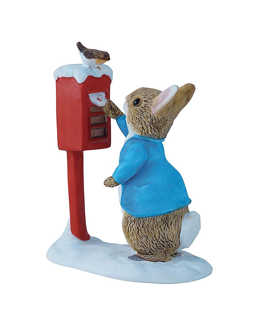 Image of Peter Rabbit Posting a Letter