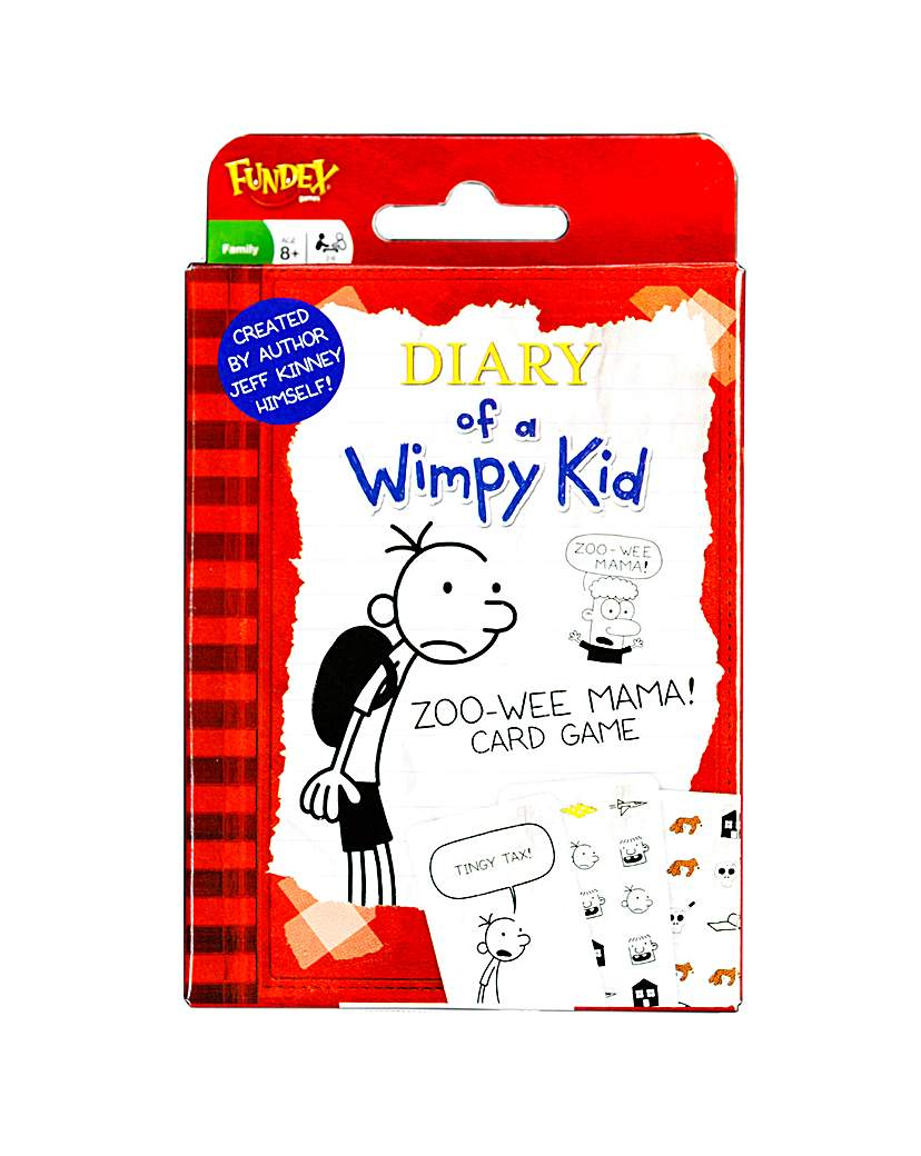 Image of Diary of a Wimpy Kid Card Game