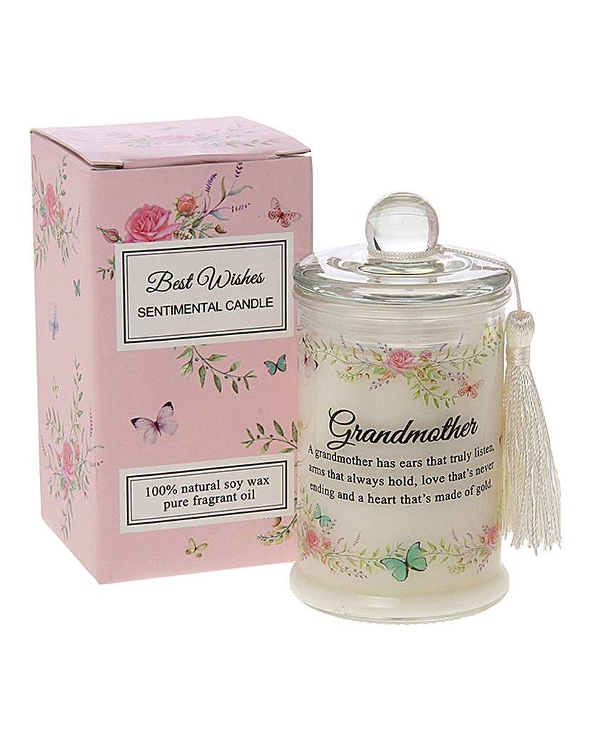 Image of Best Wishes jar Candle