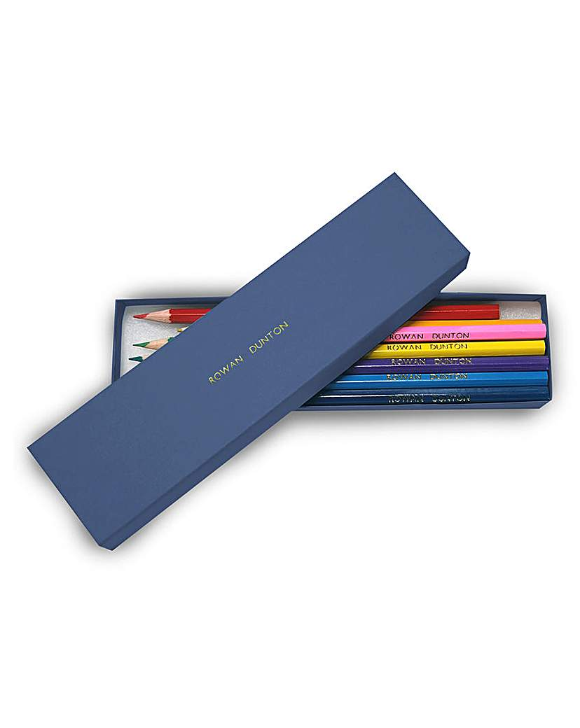 Image of 12 Personalised Colouring Pencils