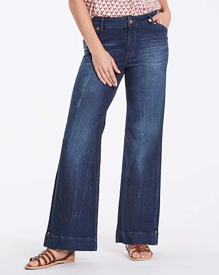 Size 20 | Wide Leg | Jeans | Womens | Fifty Plus