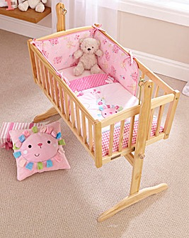 Clair De Lune Lottie & Squeek Crib Set