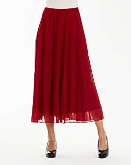 Mesh Skirt Length 32in