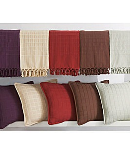 Checked Cushion Covers Pack of 4