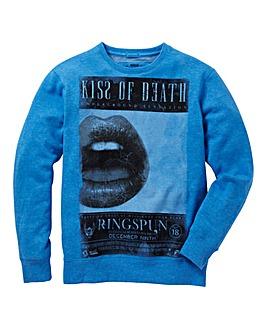 Ringspun Crew Neck Sweatshirt