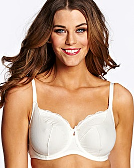 Simply Yours Ivory Blue Full Cup Bras