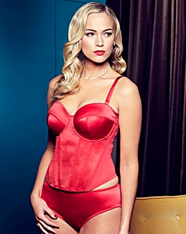 Splendour Red Satin Multiway Basque
