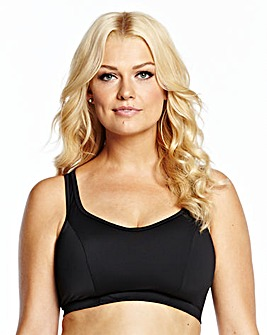 Naturally Close Black White Sports Bra