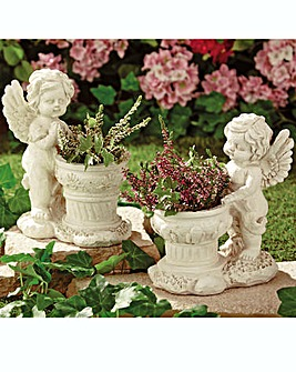 Cherub Planter Pack of 2