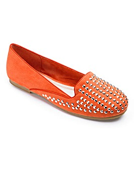 Sole Diva Studded Loafer E Fit
