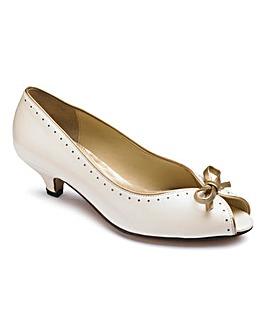 Van Dal Peep Toe Shoes E Fit