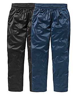 JCM Pack of 2 Polyester Pants 33 inches