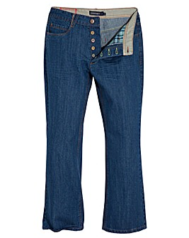 UNION BLUES Bootcut Jeans 35in