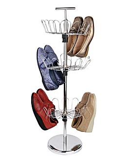 Revolving Shoe Tree 18 Pairs