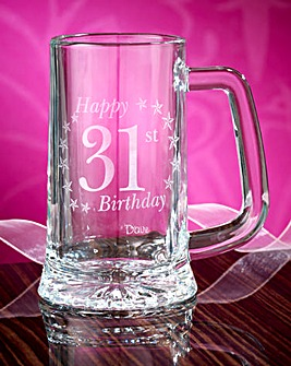 Personalised Birthday Tankard