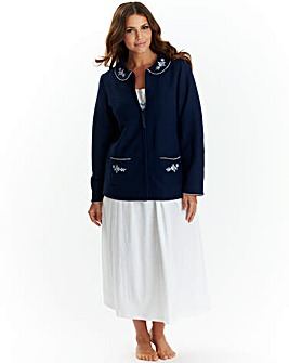 Miliarosa Soft Fleece Bed Jacket L26