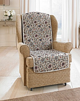 Floral Jacquard Furniture Protector