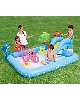 Bestway Aquarium Play Pool with Slide