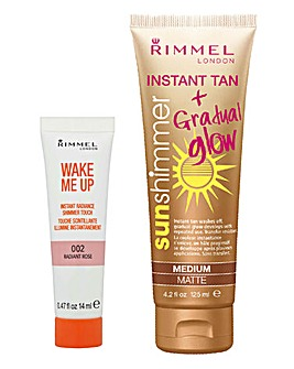 Rimmel Sunshimmer Medium Set