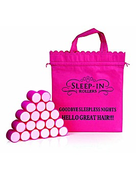 Sleep In Rollers Original Pink Rollers