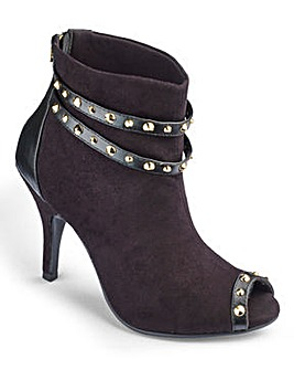 Grazia Studded Shoe Boot E Fit