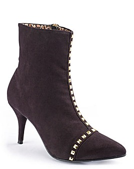 Jeffrey and Paula Stud Ankle Boot EEE
