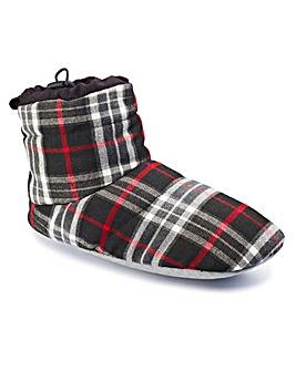 Jacamo Mens Checked Slipper Boots