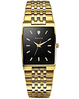 Accurist Gents Diamond Set Watch