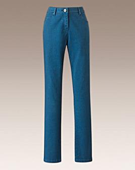 Simply Be Coloured Slim Leg Jeans Reg