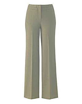 MAGISCULPT Wide Leg Trousers Length 27in