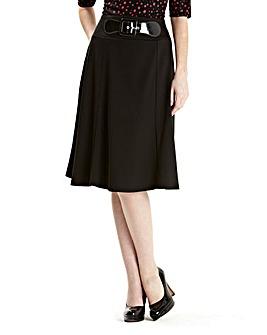 Ponte Skirt 25in