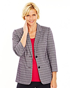 Ponte Tailored Jacket