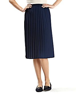 Plain Pleat Skirt length 27
