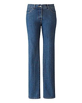 TRULY WOW Slim Leg Jeans Short