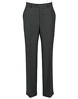The Label Herringbone Suit Trouser Long