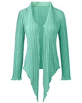 Joanna Hope Crystal Pleat Unlined Jacket