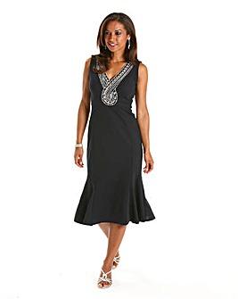 Joanna Hope Panelled Jersey Dress