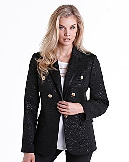 Joanna Hope Jacquard Tailored Blazer