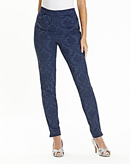 Joanna Hope Jacquard Trousers