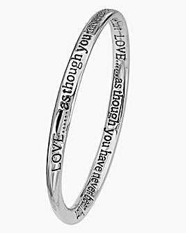 Sentiments Bangle