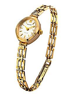 Accurist Ladies 9ct Gold Bracelet Watch