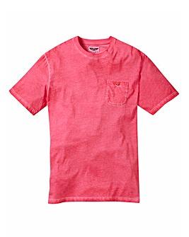 Label J Oil Wash Tshirt Long