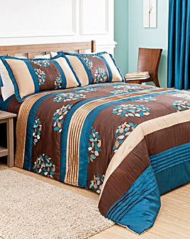 Florence Quilted Throwover Single