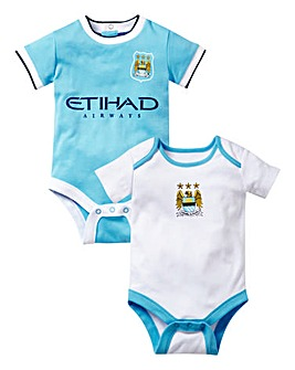 Manchester City FC 2 Piece Bodysuit