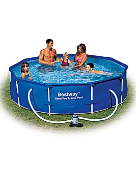 Bestway 10 Foot Steel Frame Pool