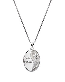 Personalised Memories Locket Pendant