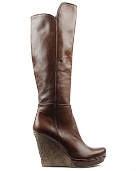 Daniel Wisdom Knee High Wedge Boot