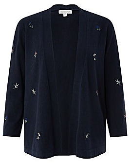Monsoon Tyla Tulip Embroider Cardigan
