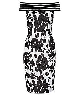 Gina Bacconi Jojo Floral Printed Dress