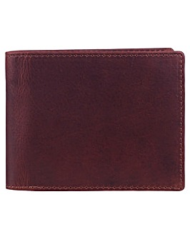 Smith & Canova Plain Bill Fold Wallet